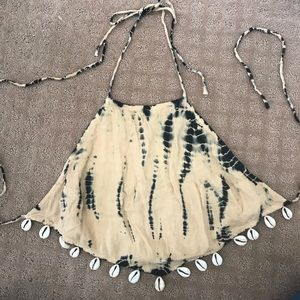 Urban outfitters tie dye halter top!